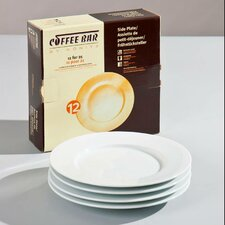 "Coffee Bar 8"" Plate (Set of 4)"