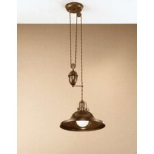 Rustik Charleston 1 Light Pendant
