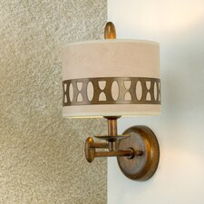 Modern Oval 1 Light Wall Sconce