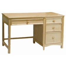 "Wakefield Large 52"" W Pedestal Children's Computer Desk"
