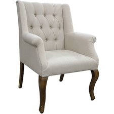 Linen Arm Chair