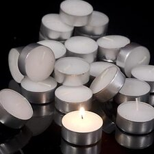 Fresh Linen Tealight Candles (Set of 25)