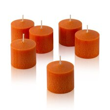 Orange Mandarin Scented Votive Candles (Set of 36)