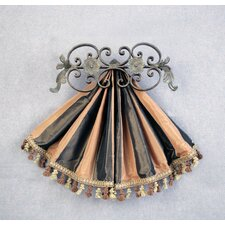 Casa Artistica Top Treatment Medallion Design Curtain Bracket