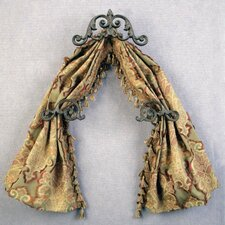Casa Artistica Scroll Swag Curtain Valance