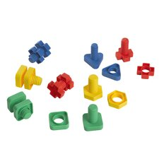 Easy-Grip Nuts and Bolts (Set of 48)
