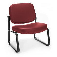 Big and Tall Armless Vinyl Chair