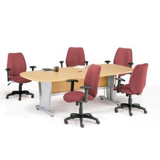 Modular Conference Table with Optional Chairs