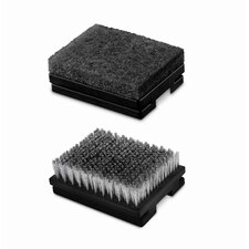 Heavy-Duty Grill Brush Replacement Head (Set of 2)