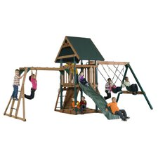 Mongoose Manor Deluxe Swing Set