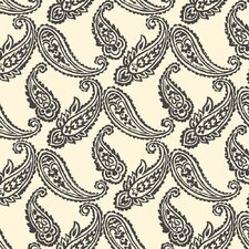 Tommy Bahama Block Print Paisley Unpasted Wallpaper