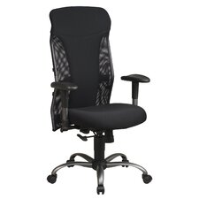 Mesh High-Back Office Chair with Arms