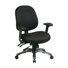 Mid-Back Office Chair with Seat Slider