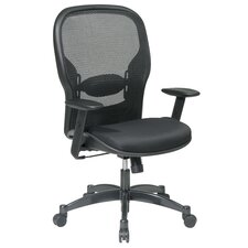 SPACE Matrex Mid-Back Mesh Managerial Chair with Arms
