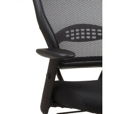 SPACE Professional Air Grid Matrex Mid-Back Managerial Chair with Arms
