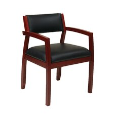 Napa Upholstered Back Eco Leather Guest Chair