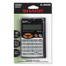 EL-480SRB Business/Handheld Calculator, 10-Digit LCD
