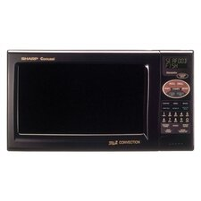 R820BK Grill 2 Convection Microwave in Dark Gray