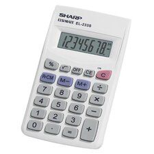 8-Digit Ergonomically Designed Handheld Calculator