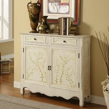 Hand Painted 2 Door 2 Drawer Console