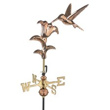 Hummingbird Weathervane with Roof Mount