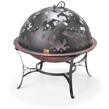 Starry Night Dome Fire Pit Set