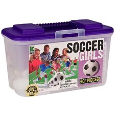 Soccer Board Game with Girls (Set of 30)
