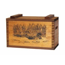 Standard Storage Box With Wood Ducks Print
