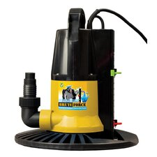 Ground Pool Winter Cover Pump with Base-Auto On/Off