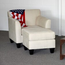 Park Chair and Ottoman