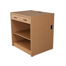 Circulation 2 Drawer with Shelf Unit
