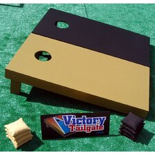 Mixed Solid Color Cornhole Bean Bag Toss Game