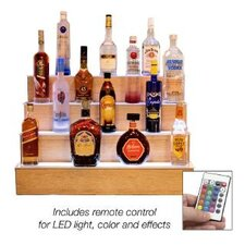 Illuminated 4-Step Bar Back Riser