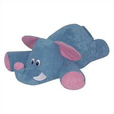 Child Plush Collection Rug Pals Bean Bag - Ellyfant