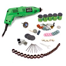 190 Piece Rotary Tool and Accessory Set