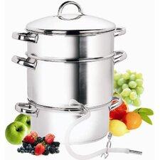 Cook N Home Stainless Steel Juicer Steamer