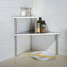 Stainless Steel Triangle Corner Storage Shelf