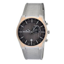 Mesh Men's Crystal Watch
