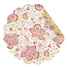 Chesapeake Sorbet Round Quilted Placemat (Set of 4)