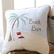 Beach Bum Pillow