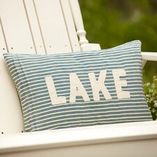 Montauk Lake Pillow