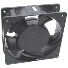 "4"" Square Black Fan"