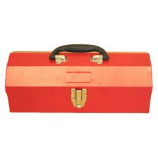 "14.2"" Portable Metal Tool Box"