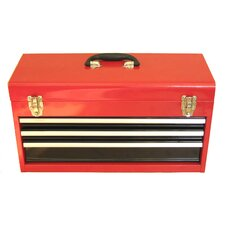 "21"" Portable Metal Tool Box"