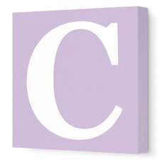 Letter - Upper Case 'C' Stretched Wall Art