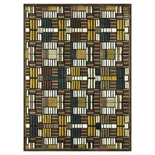 Halton Brown / Teal Rug