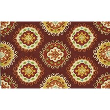 Sunshine Red/Multi Rug
