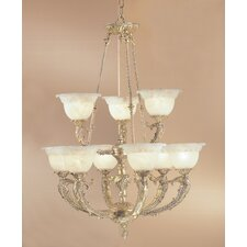 Victorian II 9 Light Chandelier