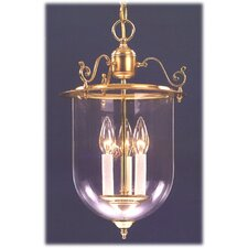 Asheville Lantern 3 Light Foyer Pendant