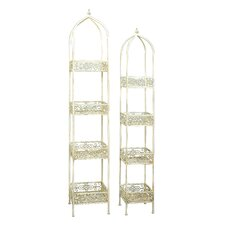 Multi-Tiered Plant Stand (Set of 2)